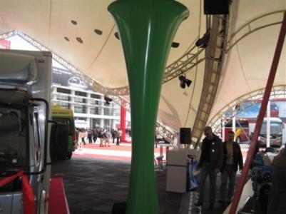喇叭柱 新国际会展