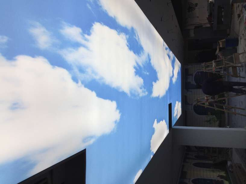 蓝天白云3米*20米